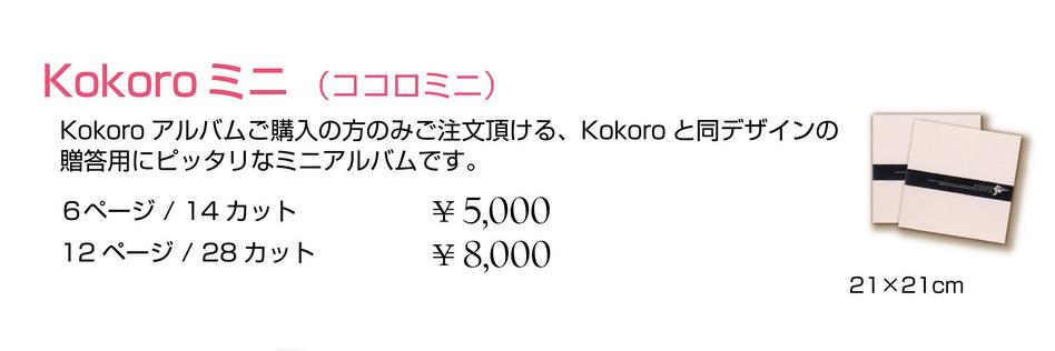 Kokoroアルバムミニ