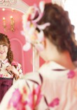 ピンクの部屋と卒業袴