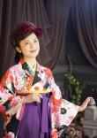 卒業袴×紫