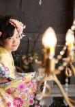 小学生の卒業袴×黄色