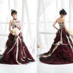 赤セパレートドレス