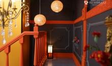 スタジオ内装 和装コーナー