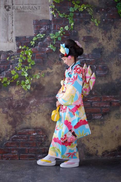 七五三 京都 写真