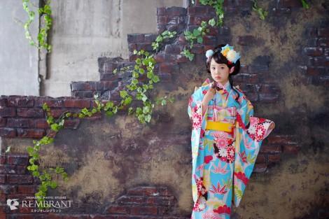 七五三 京都 写真 お詣り