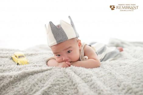 赤ちゃんフォト ハーフバースデー