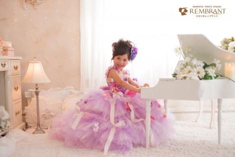 七五三 ドレス ピンク