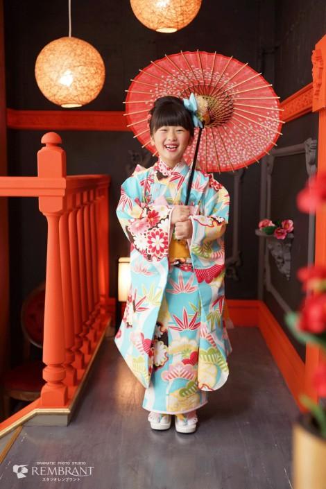 七五三 撮影セット 京都 神社 和風コーナー