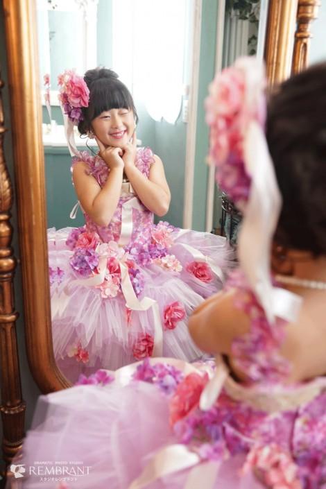 七五三 撮影 オシャレ 可愛い ドレス