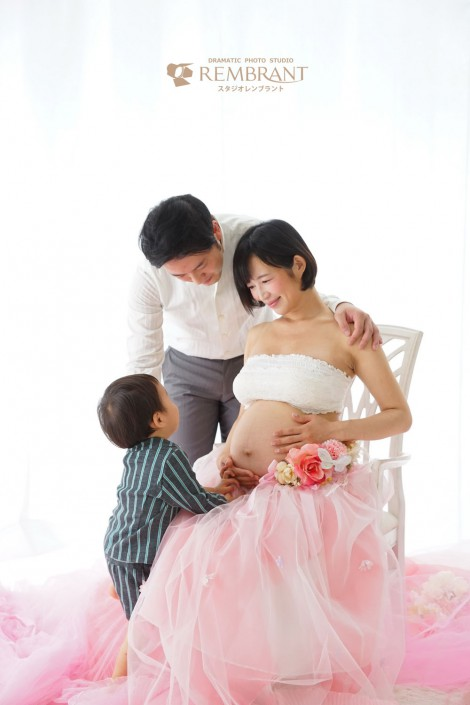 マタニティ 家族写真