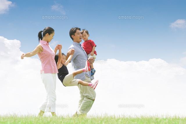 広告用写真 家族イメージ