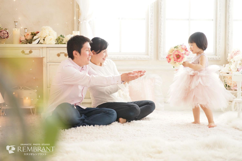 結婚記念,お誕生日,記念写真,家族写真