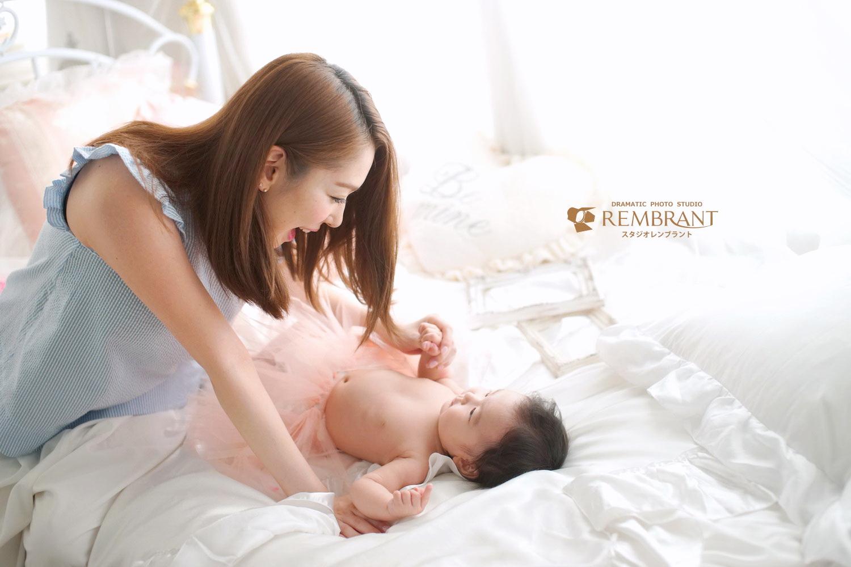 赤ちゃんフォト 親子 癒やし
