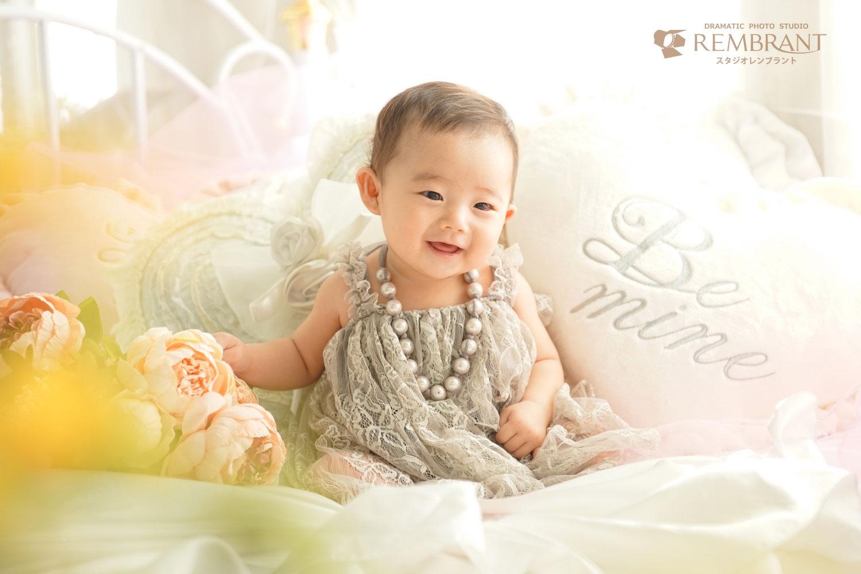 赤ちゃん ベビードレス ベビーフォト