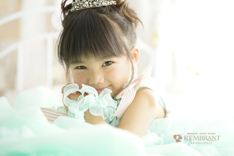可愛い誕生日写真