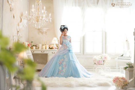 十三参考撮影ドレス