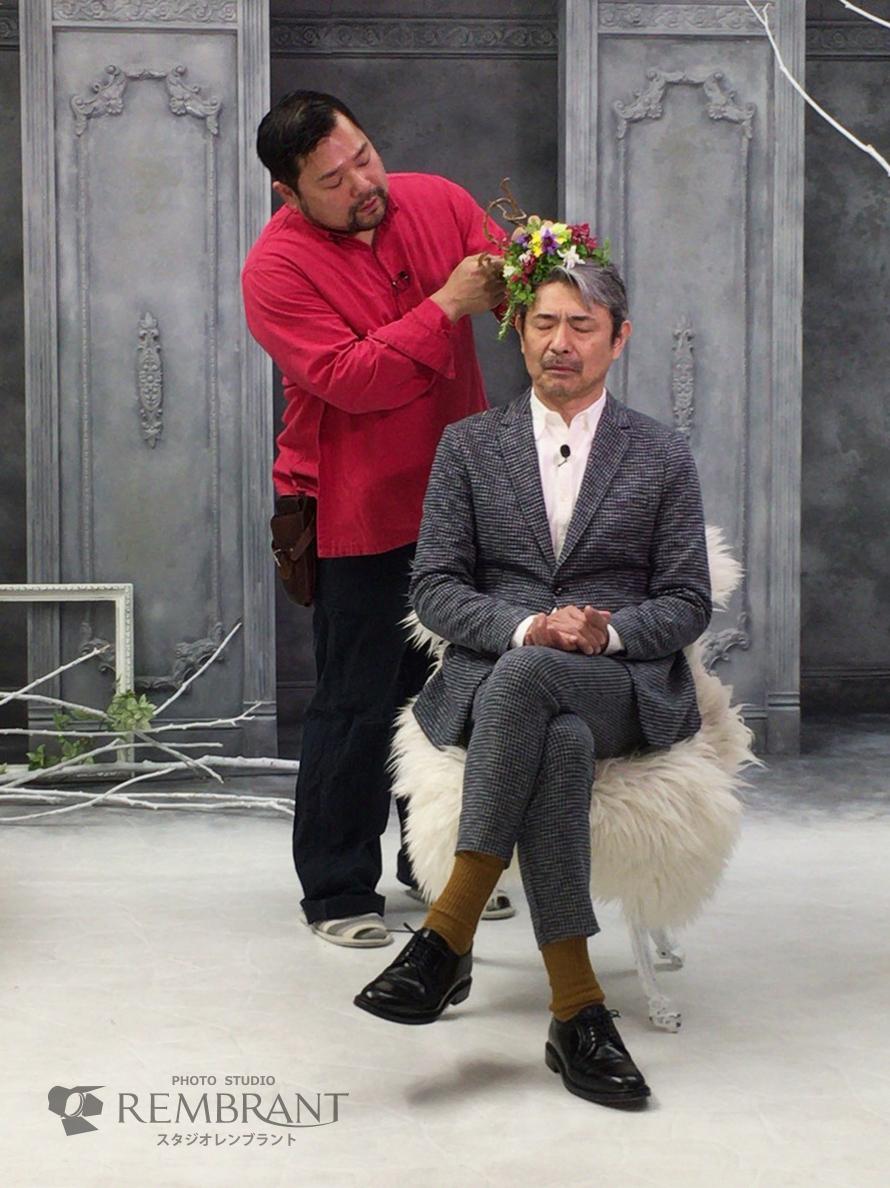 花結い師TAKAYAさんと升毅さん