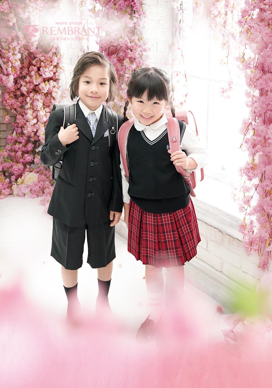 入学記念×桜