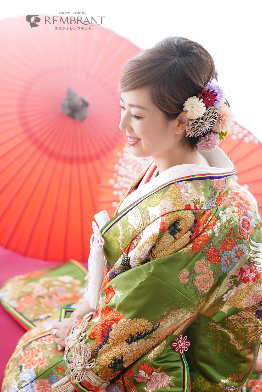 色打掛×和傘