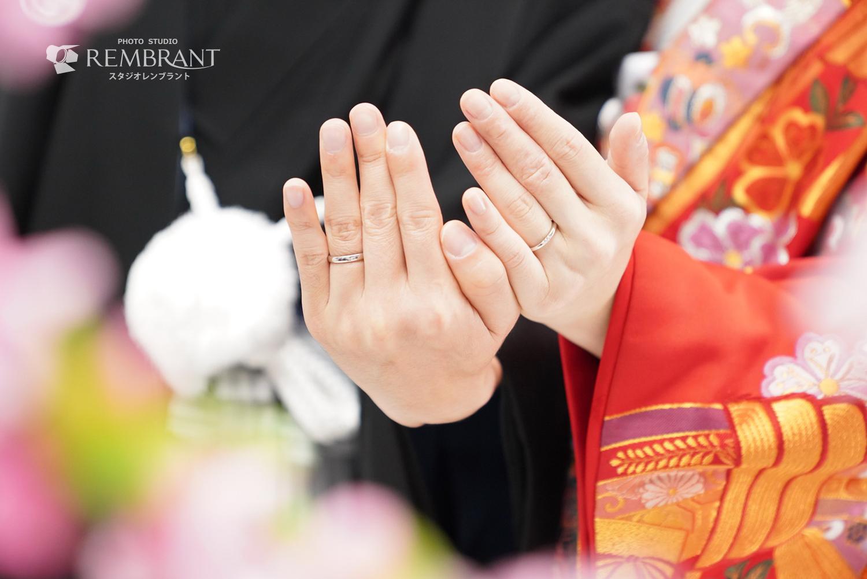 婚礼和装×桜