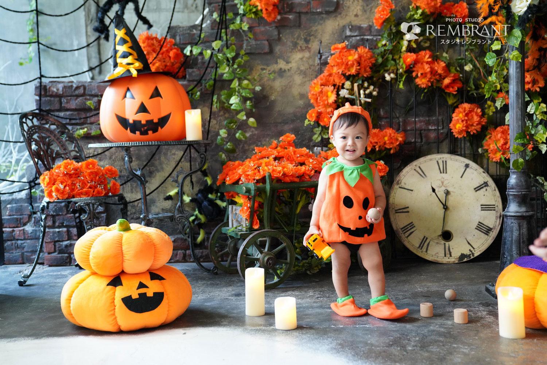 ハロウィン撮影会かぼちゃ