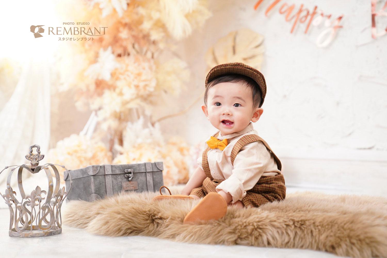 1才お誕生日フォト-男の子